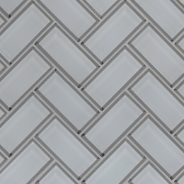 Ice Bevel Herringbone - 12X12