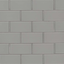 Oyster Gray Subway 2X4 - 12X12