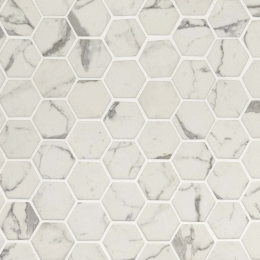 Statuario Celano Hexagon - 12X12