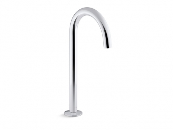 Components Bathroom Sink Spout With Tube Design -77965-CP