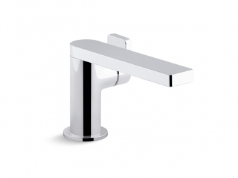 Composed Single Handle Faucet With Lever Handle-73167-4-CP