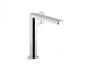 Composed Tall Single Handle Faucet With Lever Handle-73168-4-CP