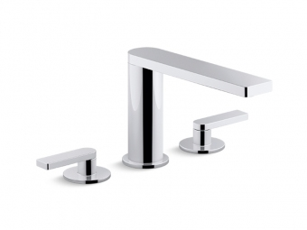 Composed Widespread Faucet With Lever Handles-73060-4-CP