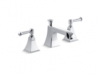 Memoirs Widespread Bathroom Faucet With Lever Handles-454-4S-CP