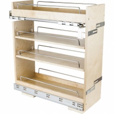 Base Cabinet Pull Out With Premium Soft Close Concealed Undermount Slides