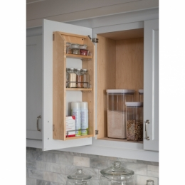 Adjustable Spice Rack For Wall Cabinet