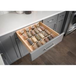 Spice Tray Organizer For Drawer