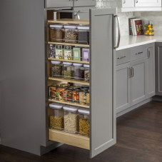 Wood Pantry Cabinet Pull Out