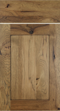 Species Rustic Knotty Hickory Rye With Heavy Charcoal Glaze