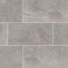 Essentials  Ansello Grey - Glazed - Matte - 2X2, 12X24