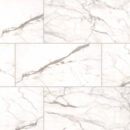 Essentials  White Vena - Glazed - Matte - 12X24