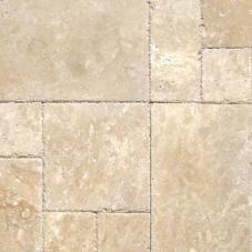 Tuscany Beige - Brushed, Chiseled, Honed, Unfilled, Filled, Tumbled - 8X8 (4 pcs), 8X16 (2 pcs), 16X16 (4 pcs), 16X24 (2pcs) - Pattern