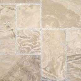 Tuscany Walnut Onyx - Chiseled, Honed, Unfilled - 8X8 (4 pcs), 8X16 (2 pcs), 16X16 (4 pcs), 16X24 (2pcs) - Pattern