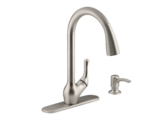 Barossa Pull Down Kitchen Faucet - R776-SD-VS