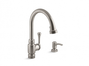 Carmichael Pull Down Kitchen Faucet-R72512-SD-VS
