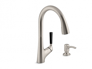 Malleco Pull Down Kitchen Faucet - R562-SD-VS