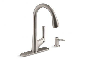 Malleco Touchless Pull Down Kitchen Faucet-R77748-SD-VS