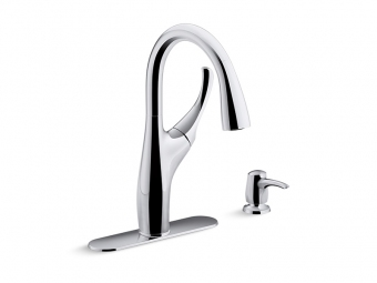 Mazz Pull Down Kitchen Faucet -R72511-SD-CP
