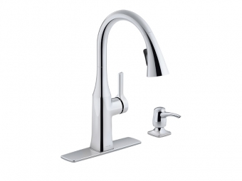 Rubicon Pull Down Kitchen Faucet -R20147-SD-CP