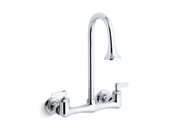 Triton Utility Sink Faucet With Lever Handles -7319-4-CP