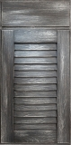 Louver-Weathered Charcoal