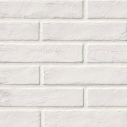 Brickstone White - Glazed - Matte - 2X10
