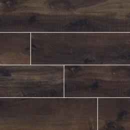 Country River Bark - Glazed - Matte - 6X36, 8X48