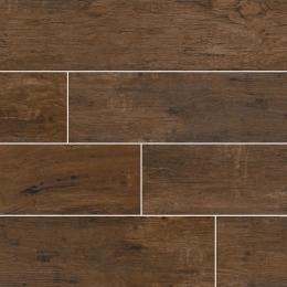 Redwood Mahogany - Glazed - Matte - 6X24, 6X36, 8X48