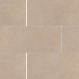 Travertino Beige - Glazed - Matte - 2X2, 12X12, 12X24, 18X18