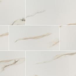 Aria  Bianco - Glazed - Polished - 2X4, 12X24, 24X24, 24X48