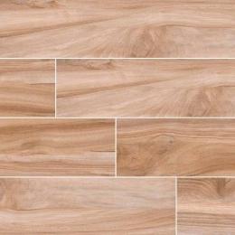 Aspenwood  Amber - Glazed - Matte - 9X48