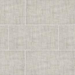 Tektile  Crosshatch Ivory - Glazed - Matte - 12X24