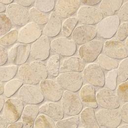 Coastal Sand Pebbles - Limestone - Tumbled - 12X12