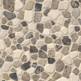 Mix Marble Pebbles - Marble - Tumbled - 12X12