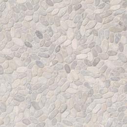 Sliced Pebble Ash - Marble - Tumbled - 12X12