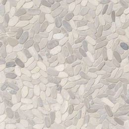 Sliced Pebble Truffle - Marble - Tumbled - 12X12