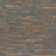 Gold Rush Mini - Slate - Panel - 4.5X16, Corner - 4.5X9