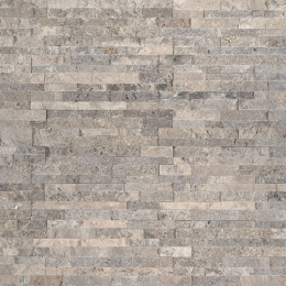 Silver Travertine Mini - Travertine - Panel - 4.5X16, Corner - 4.5X9