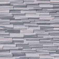 Alaska Gray 3D Honed - Marble - Panel - 6X24, Corner - 6X12X6, 6X18X6