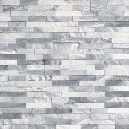 Alaska Gray Multi Finish - Marble - Panel - 6X24, Corner - 6X12X6