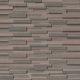 Brown Wave - Sandstone - Panel - 6X24, Corner - 6X12X6, 6X18X6
