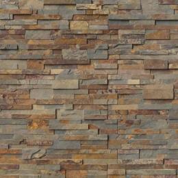 Gold Rush - Slate - Panel - 6X24, Corner - 6X6X6, 6X12X6
