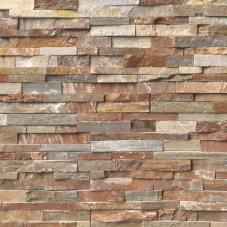 Golden White - Quartzite - Panel - 6X24, Corner - 6X12X6, 6X18X6