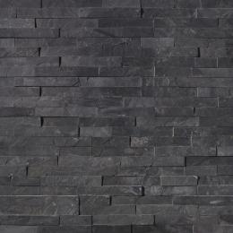 Premium Black - Slate - Panel - 6X24, Corner - 6X18X6