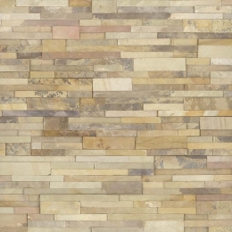 Sedona Fossil - Sandstone - Panel - 6X24, Corner - 6X6X6