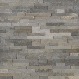 Sedona Grey - Quartzite - Panel - 6X24, Corner - 6X6X6