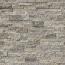 Silver Travertine - Travertine - Panel - 6X24, Corner - 6X12X6, 6X18X6