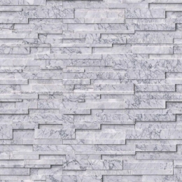 Statuarietto Capri 3D Honed - Marble - Panel - 6X24, Corner - 6X12X6, 6X18X6