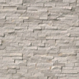 White Oak Splitface - Marble - Panel - 6X24, Corner - 6X12X6, 6X18X6