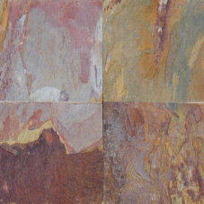 Lilac Kashmir - Gauged - 12X12